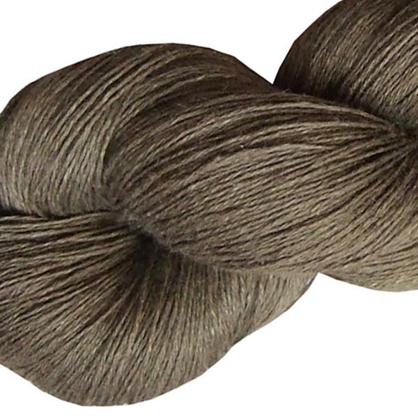 Fil de lin bronze pour le tricot et e crochet