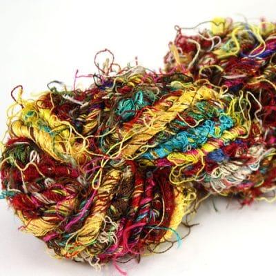 Fil de soie de sari