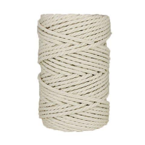 Macramé - corde - ficelle - coton - Fil - naturel- 5mm