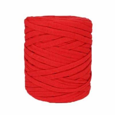 Bobine de trapilho rouge écarlate
