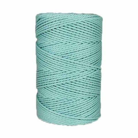 Macramé - corde - ficelle - coton- Fil - Azurin 3mm