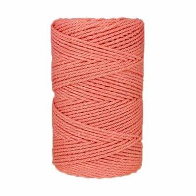 Macramé - corde - ficelle - coton- pale - Fil - 3mm