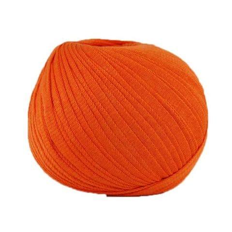 Trapilho Ribbon XL mandarine - Fil Ribbon Hoooked