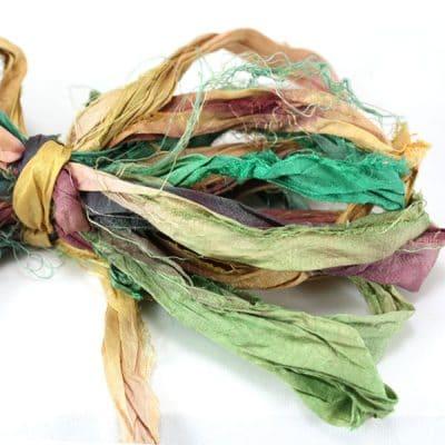 Ruban de soie de sari
