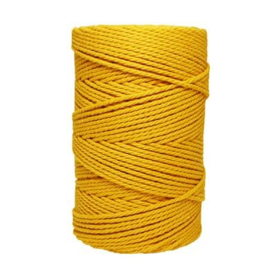 Macramé - corde - ficelle - coton- cordon - fil 3mm