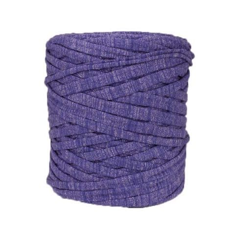 Trapilho violet chiné
