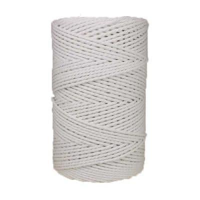Corde macramé 3mm blanc