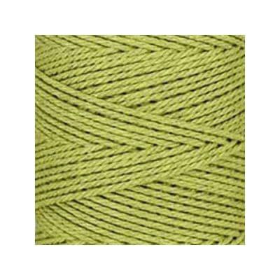 Macramé - corde - ficelle - coton - vert pistache - cordon - fil 3mm - vendu au mètre