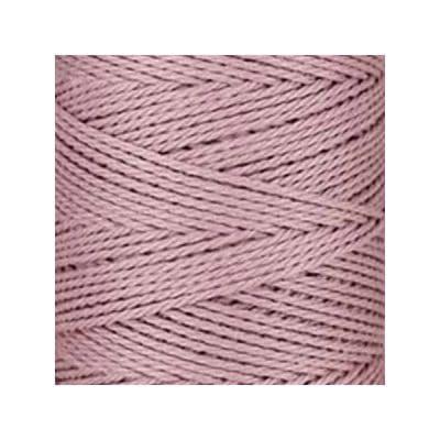 Macramé - corde - ficelle - coton - rose orchidée - cordon - fil 3mm - vendu au mètre