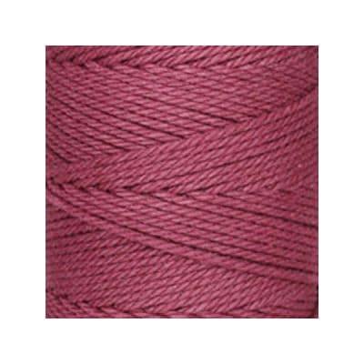 Macramé - corde - ficelle - coton- bordeaux amarante - cordon - fil 3mm - vendu au mètre