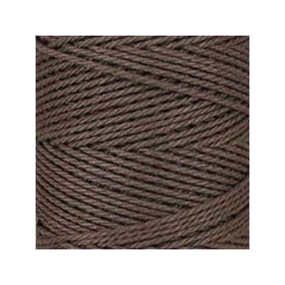 Macramé - corde - ficelle - coton- marron chocolat - cordon - fil 3mm - vendu au mètre