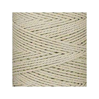 Macramé - corde - ficelle -blanc cassé naturel - coton- cordon - fil 3mm - vendu au mètre