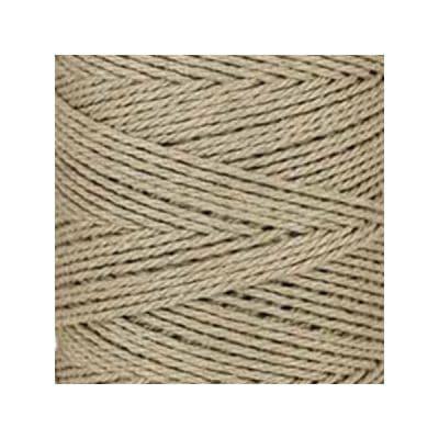 Macramé - corde - ficelle - coton-beige - cordon - fil 3mm - vendu au mètre