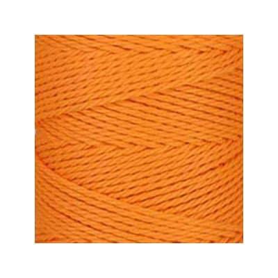 Macramé - corde - ficelle - coton - mandarine orange - cordon - fil 3mm - vendu au mètre