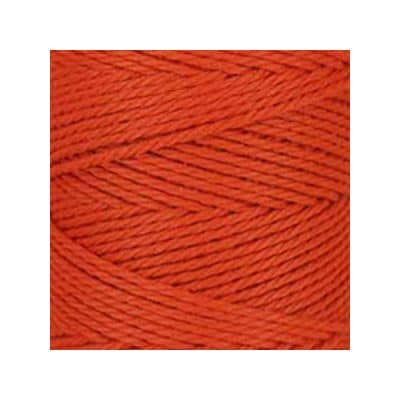 Macramé - corde - ficelle - coton- orange brûlé - cordon - fil 3mm - vendu au mètre