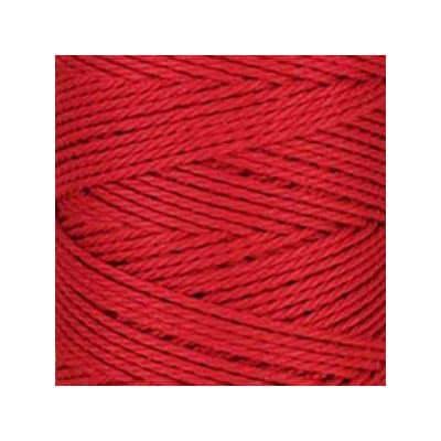 Macramé - corde - ficelle - coton- rouge cerise - cordon - fil 3mm - vendu au mètre
