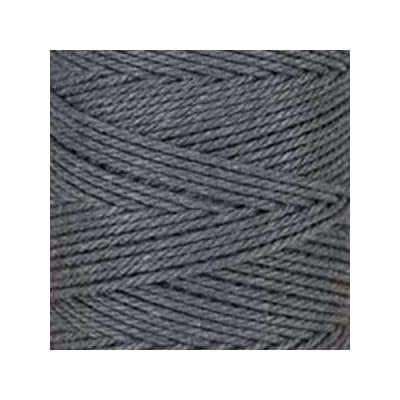 Macramé - corde - ficelle - coton - gris ardoise - cordon - fil 3mm - vendu au mètre