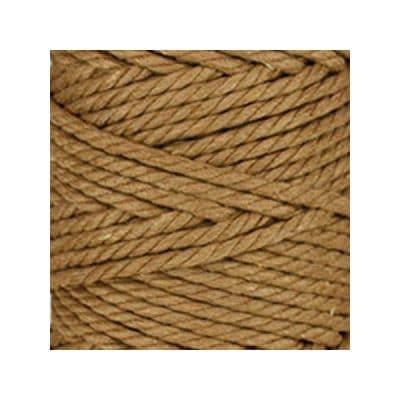 Macramé - corde - ficelle - coton - noisette - cordon - fil 5mm - vendu au mètre