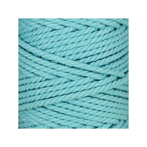 corde macram en coton au m tre bleu maya 5 mm. Black Bedroom Furniture Sets. Home Design Ideas