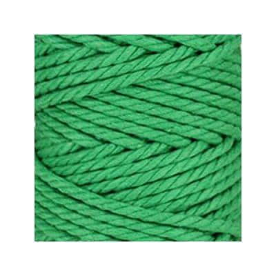 Macramé - corde - ficelle - coton - vert pomme- cordon - fil 5mm - vendu au mètre