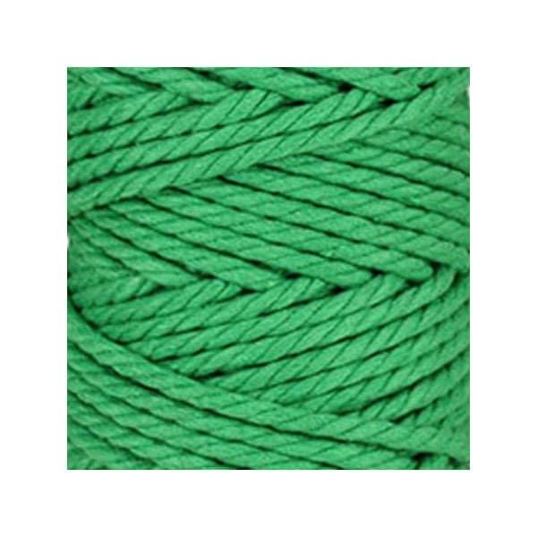 corde macram en coton au m tre vert pomme 5 mm. Black Bedroom Furniture Sets. Home Design Ideas