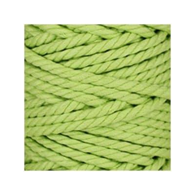 Macramé - corde - ficelle - coton - anis - cordon - fil 7mm - vendu au mètre