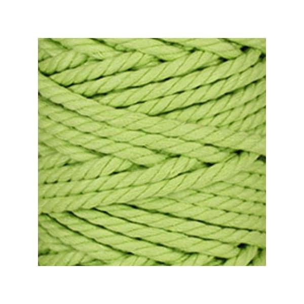 corde macram en coton au m tre vert anis 7 mm. Black Bedroom Furniture Sets. Home Design Ideas