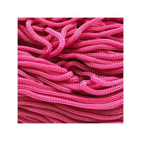 Cordon Swan Thai - Corde Thailandaise - Fil de 2mm - rose - tricot - crochet - sacs