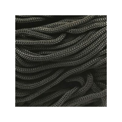 Cordon Swan Thai - Corde Thailandaise - Fil de 2mm - noir - tricot - crochet - sacs
