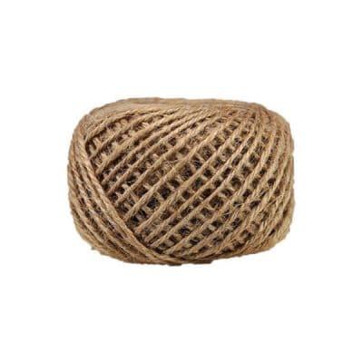 Corde - ficelle de jute- fil de 2mm - naturel - macramé - crochet - bijouterie -décoration -bricolage - art floral