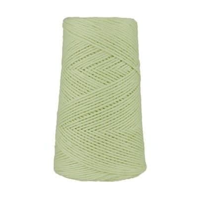 Cordon - corde - coton peigné suprême - fil de 2mm - vert d'eau - macramé - crochet - tricot - tissage