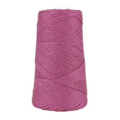 Cordon - corde - coton peigné suprême - fil de 2mm - violet améthyste - macramé - crochet - tricot - tissage