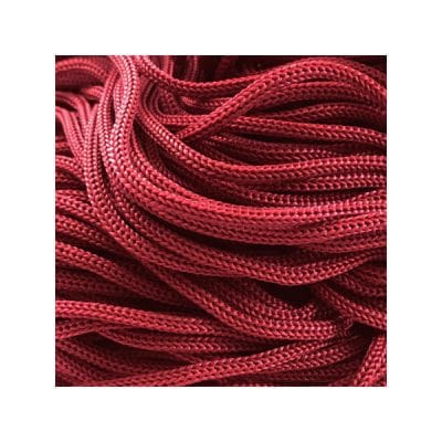 Cordon Swan Thai - Corde Thailandaise - Fil de 2mm - Bordeaux - tricot - crochet - sacs