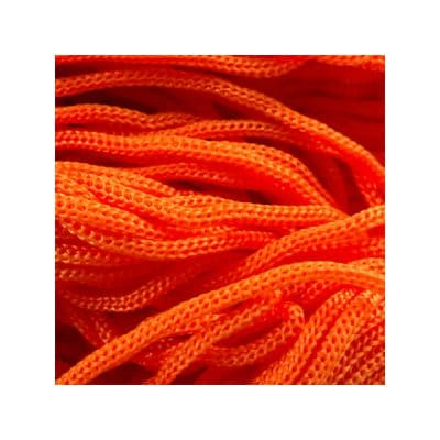 Cordon Swan Thai - Corde Thailandaise - Fil de 2mm - Orange - tricot - crochet - sacs