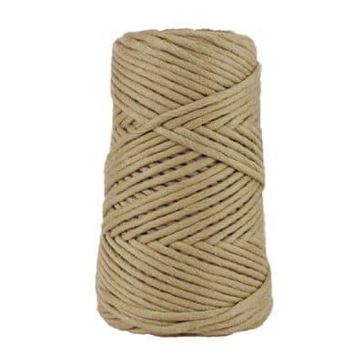 Cordon - corde - coton peigné suprême - fil de 4mm - ficelle - macramé - crochet - tricot - tissage
