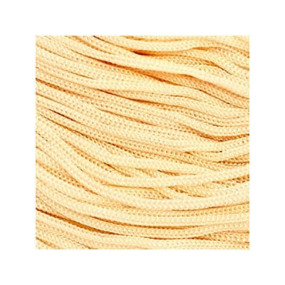 Cordon Swan Thai - Corde Thailandaise - Fil de 2mm - Sable - tricot - crochet - sacs