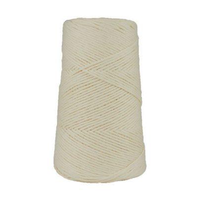 Cordon - corde - coton peigné suprême - fil de 2mm - blanc cassé - macramé - crochet - tricot - tissage
