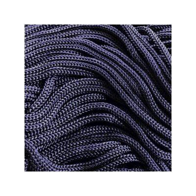 Cordon Swan Thai - Corde Thailandaise - Fil de 2mm - Bleu marine - tricot - crochet - sacs