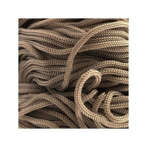 Cordon Swan Thai - Corde Thailandaise - Fil de 2mm - Taupe- tricot - crochet - sacs