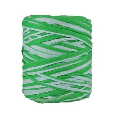B-062-bobine de trapilho vert et blanc