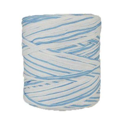 B-070-bobine-de-trapilho-imprimé-bleu-ciel-et-blanc