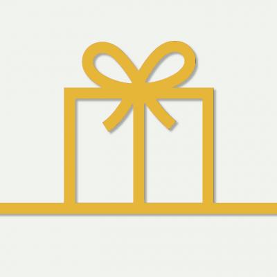 Carte cadeau Comptoir du Fil jaune