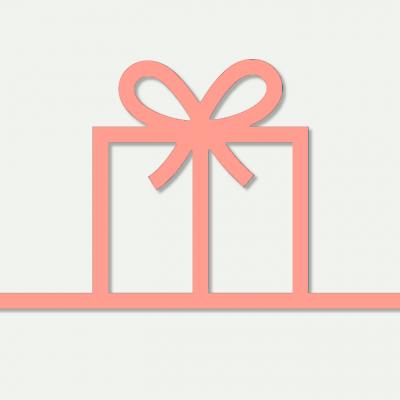 Carte cadeau Comptoir du Fil rose