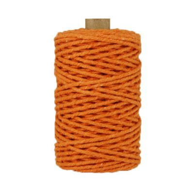 Ficelle Baker Twine - 3mm - Bobine - Orange