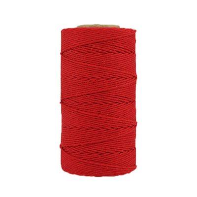 Coton ciré - Rouge cerise