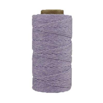 Coton ciré - Glycine