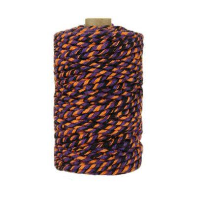 Ficelle Baker Twine - 3mm - Bobine - Violet noir orange