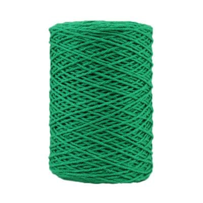 Coton bitord - Barbante - Fil de coton - Vert
