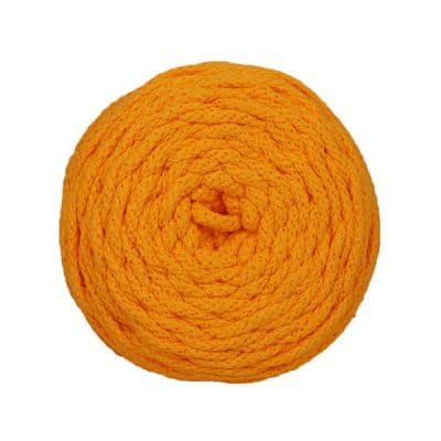 Cotton Air 4 mm Jaune bouton d'or