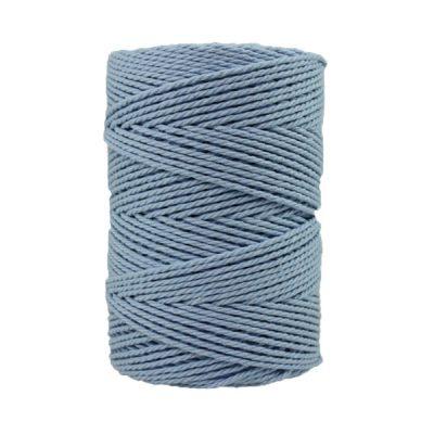 Corde macramé - 2,5 -Bleu-horizon